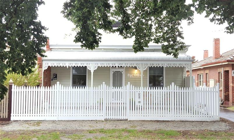 Kips Cottage: fresh + central - ベンディゴ - 一軒家