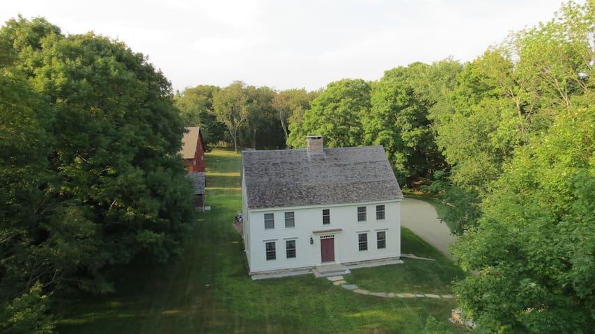 Historic home near New London, Mystic, Old Lyme. - Montville - Hus