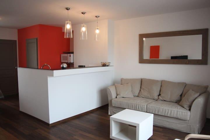 appartement ambleteuse 20m de la mer moderne - Ambleteuse - Leilighet