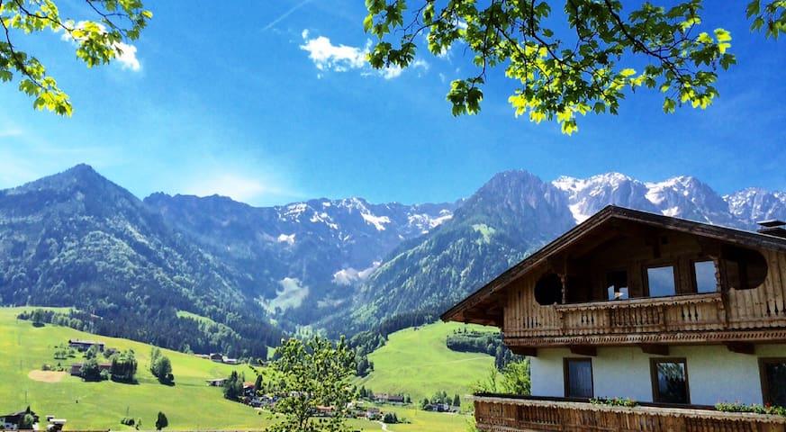 Doppelzimmer - traumhafter Ausblick auf die Alpen - Durchholzen - 度假屋