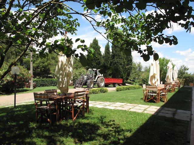 One bedroom apt. with garden @ Agr. Colleverde - Terricciola - Daire