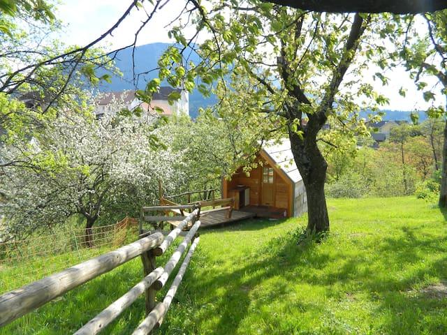 Glamping organic farm Ta Kunstna - Tržič - Casa de campo