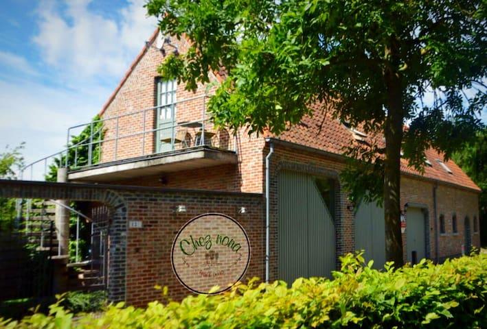 Chez nona Wintam vakantiewoning loft natuur ruste - Bornem - Leilighet