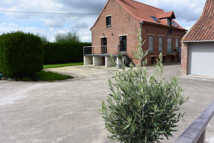Le Manoir d'Eole - Steenbecque - Hus