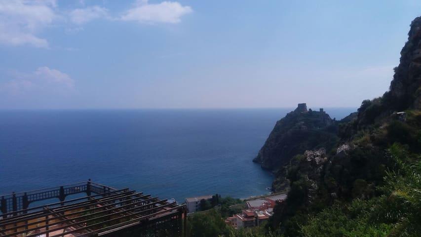 Al castello saraceno - Sant'Alessio Siculo - Reihenhaus