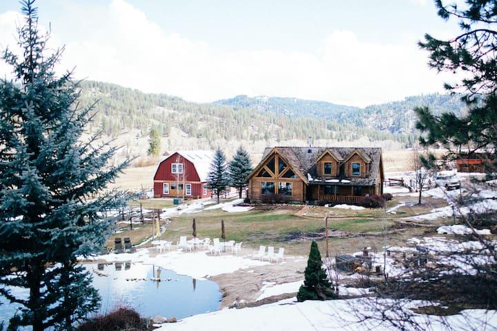 Garden Valley Ranch+Entire Ranch+sleeps up to 32 - Garden Valley - Cabaña