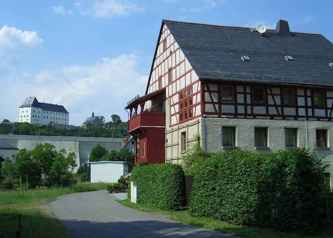 Ferienwohnung Nostalgie - Burgk