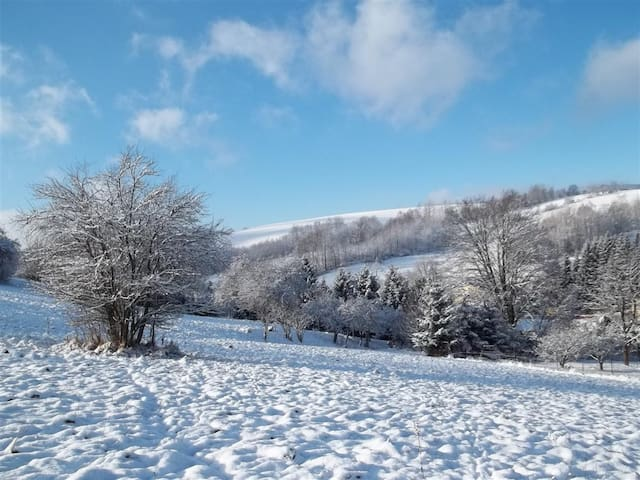 Byt na horách ( rozhraní Jizerek a Krkonoš) - Zlatá Olešnice
