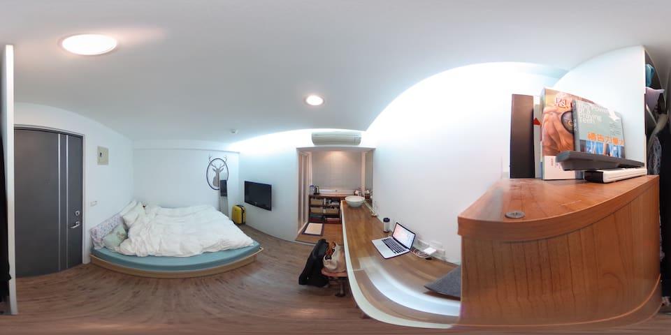 【Downtown Taipei】Beautiful suite for you to stay! - Zhongzheng District - Leilighet