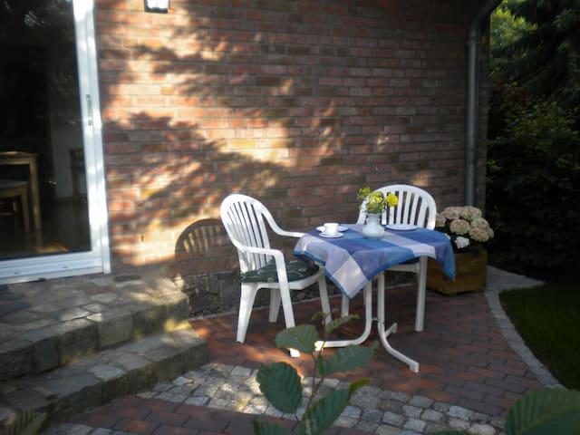 Ferienwohnung 40qm in ruhiger Ortsrandlage - Zarrentin am Schaalsee - Appartement