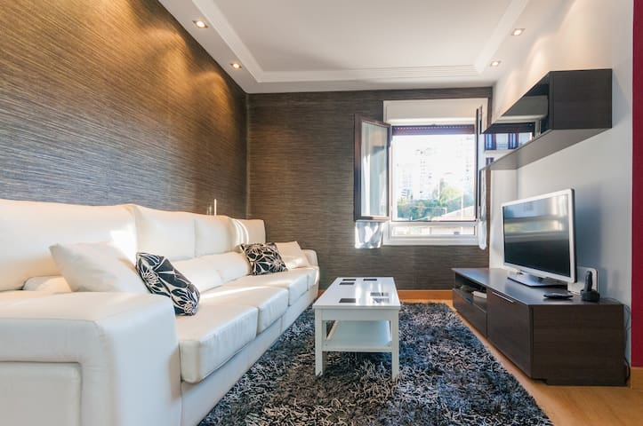 Modern apartment(free parking zone) - Donostia