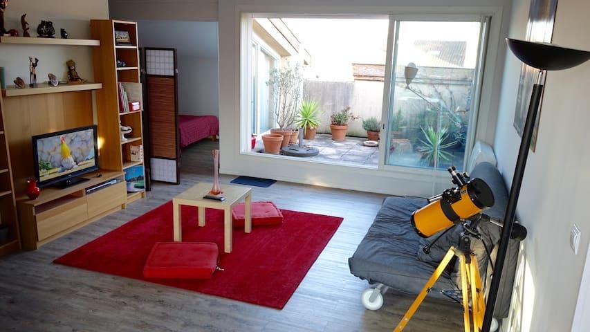 Quiet apartment in the center of Muret - Muret - Lägenhet
