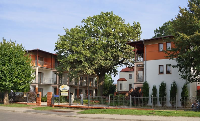 Rezydencja 5 Dębów  -  5 Eichen Residenz - 3os/3pe - Międzyzdroje - Huoneisto