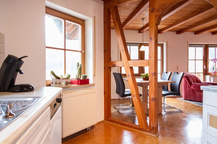 Gemütl. Wohn. 60 m2, Bodenseeregion - Deggenhausertal - Appartement