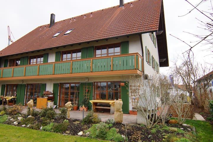 Gästehaus Wiedmann - Eresing - Oda + Kahvaltı