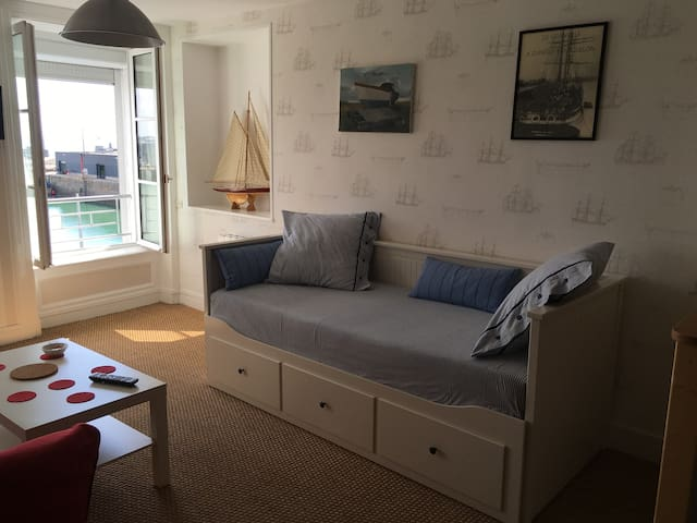 appartement avec vue exeptionnelle sur le port 3 - Granville - Apartmen