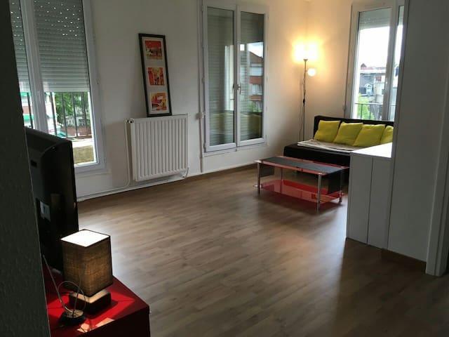 Spacieux apart centre Ville/Large flat Town centre - 瓦朗謝訥(Valenciennes) - 公寓