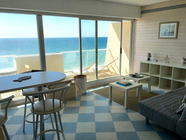 Studio cosy dernier étage avec vue sur l'ocean - Lacanau - Appartement