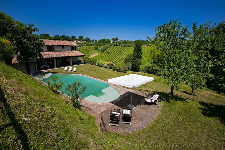 Villa vista mare collina barbecue piscina 10 pax - Rosciano - Villa