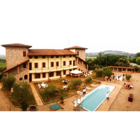 APP.IN  VILLA/CHARMING HOUSE /FLAN PONTE CHRISTO - Erbusco - Villa