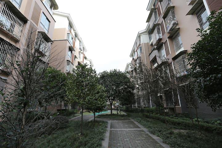 位于一环路以内,青幽的观凤新区的友好型公寓 - Chengdu Shi - Appartement