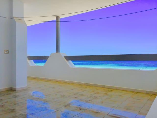 Appartement Vue Sur Mer Kélibia Plage App 4 - Kélibia - Appartement