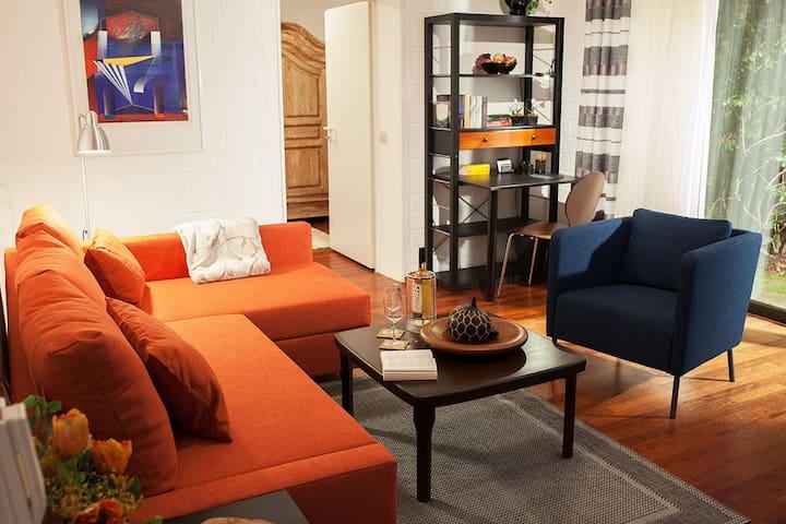 Two bedroom apartment with garden - Troisdorf