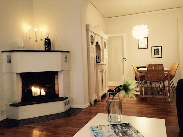 Wonderful apartment in upscale neighbourhood - Oslo - Lägenhet