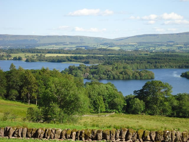 The Stable - a cottage with a spectacular view - Port of Menteith - Rumah