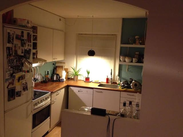 Cheap room close to natur and train to Copenhagen - Kokkedal