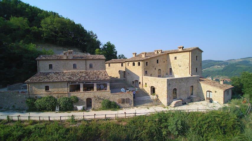 Golden Suite Room - Borgo Cisterna - Macerata Feltria - Slott