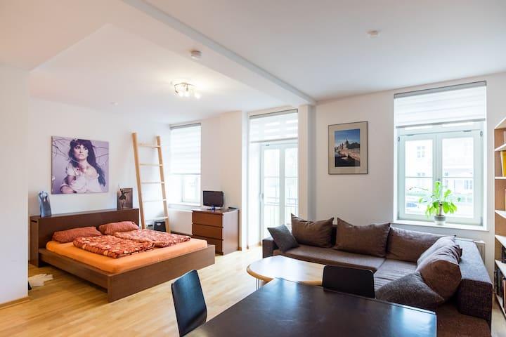 Flat near centre and stadium - Leipzig - Appartement