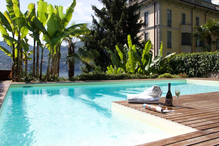 Villa Vecchia Poncetta Carina - Lake Front - Tremezzina - Leilighet