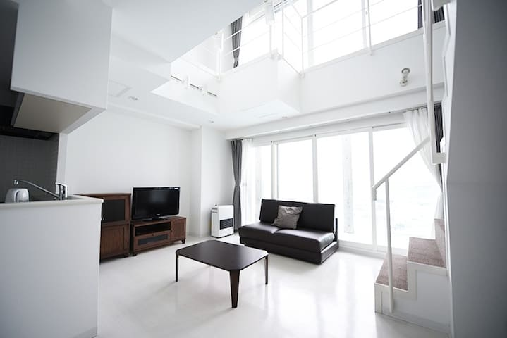 (0588)Stylish apartment 5min by car from Otaru Sta - Otaru - Departamento