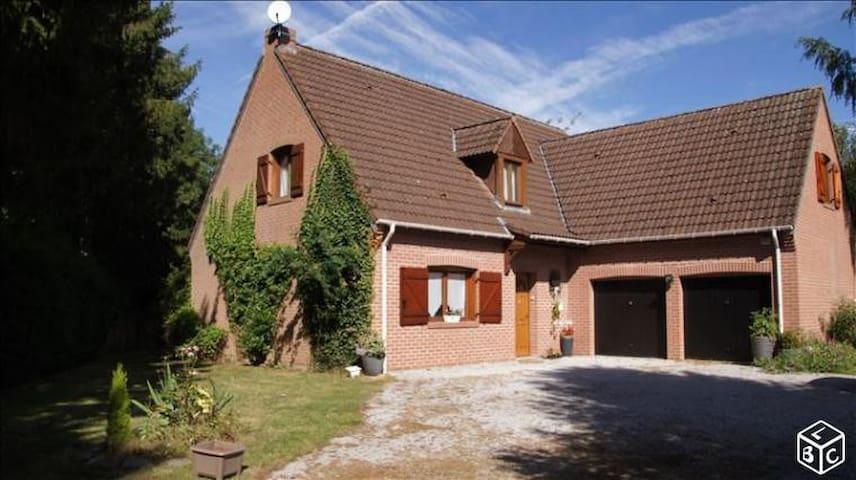 Idéal couple avec ou sans enfant, proche Lille - Camphin-en-Pévèle - Hus