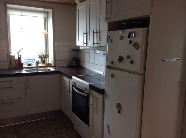 Dejlig lejlighed med super have og god beliggenhed - Hjørring - Appartement