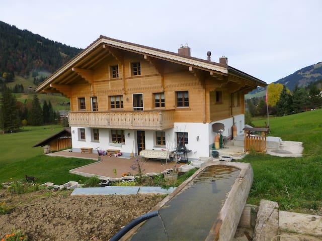 hübelihus grund bei gstaad - 薩嫩(Saanen)