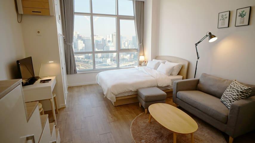 Just Seoul Stn. relax cozy place - 서울특별시 - Lägenhet