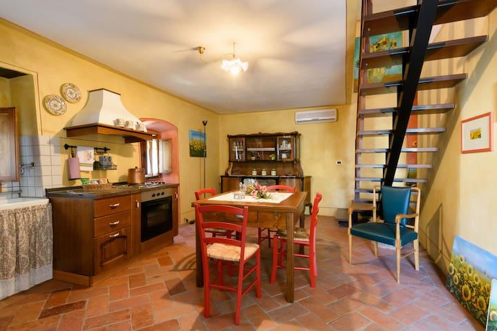 """Il Ghianderino""3 sleeps apartment - Laterina - 公寓"
