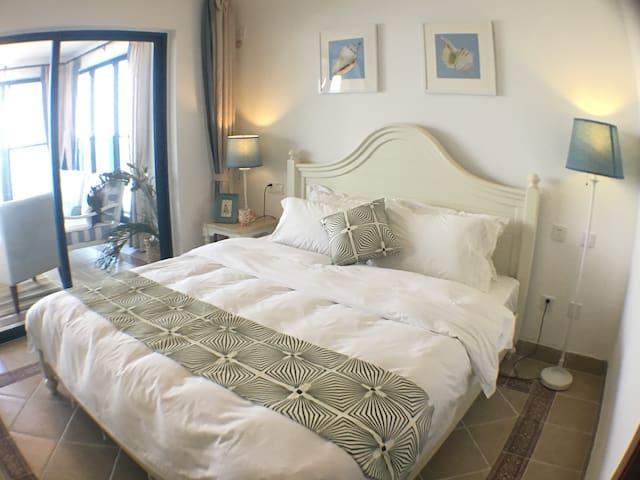 双月湾海景双卧套房,新装修 - 惠州市 - Lejlighed