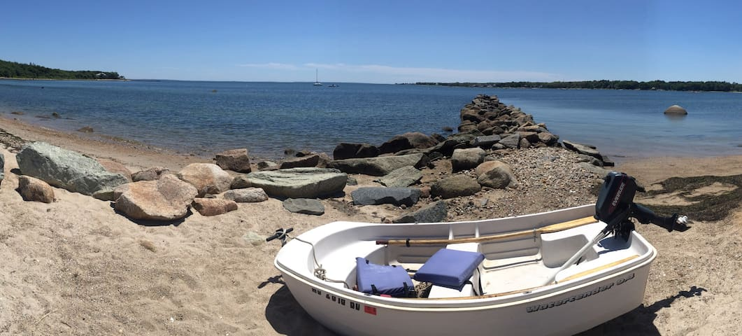 Comfy and affordable beach cottage near Cape Cod - Marion - Cabane
