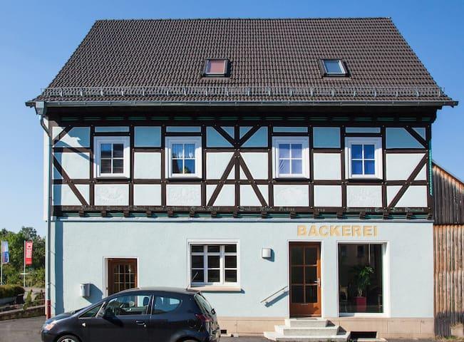 Stylish top floor apartment in the bakery - Fulda - Departamento