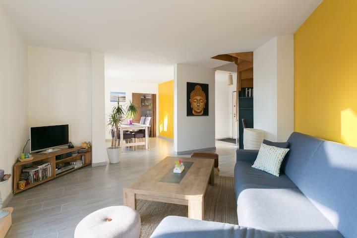 Duplex avec terrasse Disney / Paris - Champs-sur-Marne - Apartament
