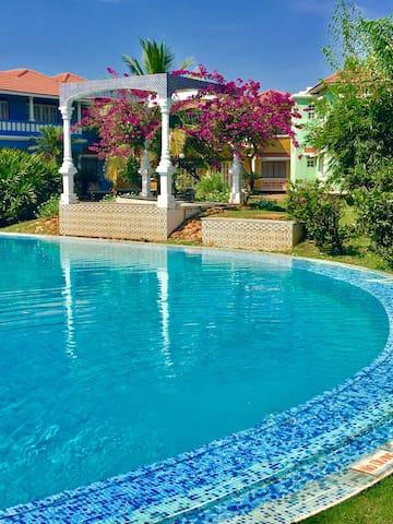 Beachside Studio wit pool & gardens - Goa - Andere