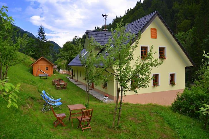 Room Brana, Tourist Farm Štiftar - Solčava - Oda + Kahvaltı