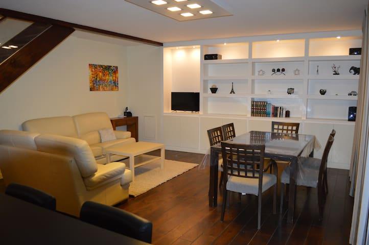 Duplex 80 m2 entièrement rénové - Villeurbanne - Huoneisto