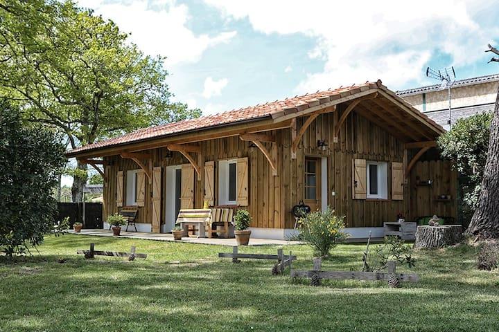 La Cabane du Résinier entre lac et océan - Vielle-Saint-Girons - Hus
