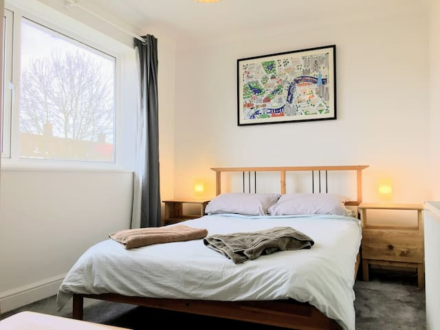 Comfy Double Room 30 Minutes to Central London - Londres