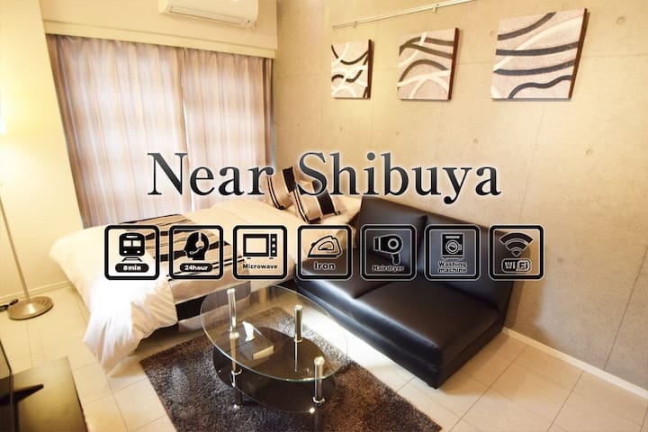 NEW40OFF!3min train to  Shibuya 4pplFREE WIFI AS40 - Setagaya-ku - Apartment