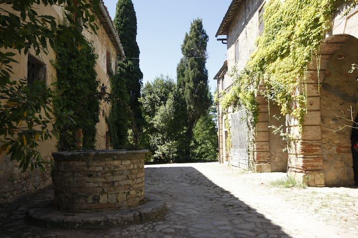 al Castellare: antico casale nel cuore del Chianti - Siena - Departamento